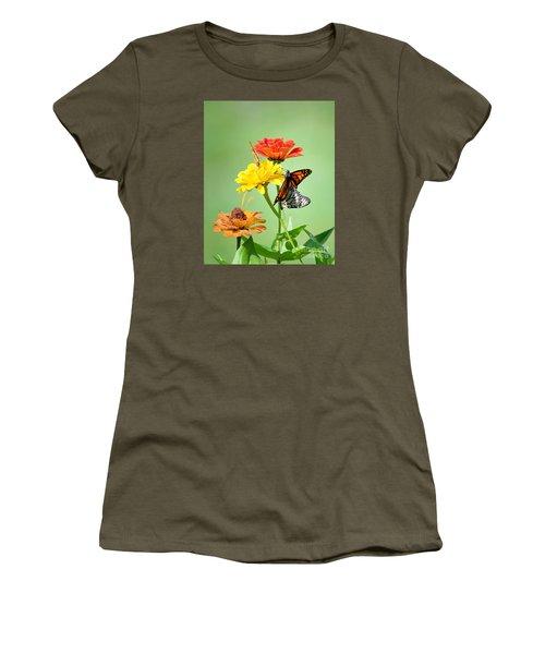 A New Beginning Women's T-Shirt (Junior Cut) by Lila Fisher-Wenzel
