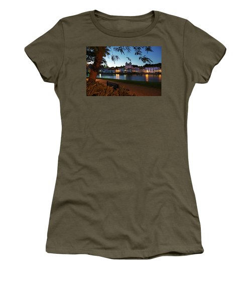 Women's T-Shirt (Junior Cut) featuring the photograph Alcacer Do Sal by Carlos Caetano