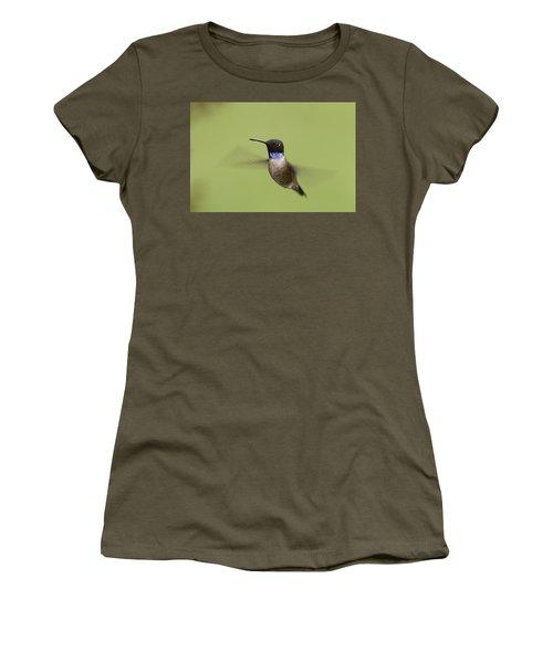 Black-chinned Hummingbird Women's T-Shirt (Athletic Fit)