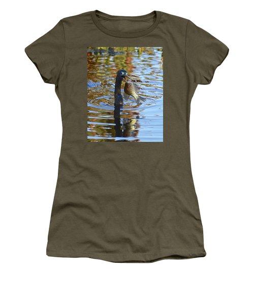 Fish, It's What's For Dinner Women's T-Shirt (Junior Cut) by Carol Bradley