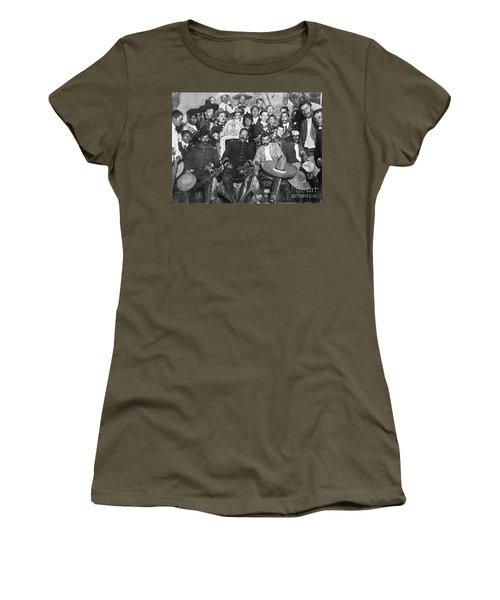 Women's T-Shirt featuring the photograph Francisco Pancho Villa by Granger