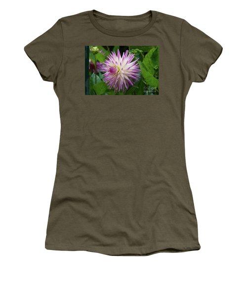 Glenbank Twinkle Dahlia Women's T-Shirt (Athletic Fit)