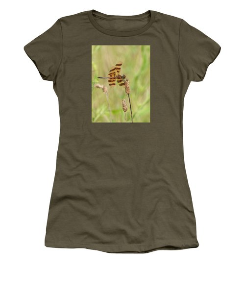Halloween Pennant Women's T-Shirt (Athletic Fit)