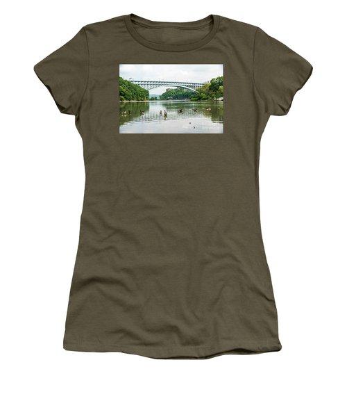 Henry Hudson Bridge Women's T-Shirt