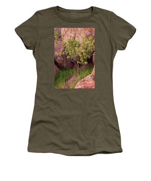 Hidden Women's T-Shirt (Athletic Fit)