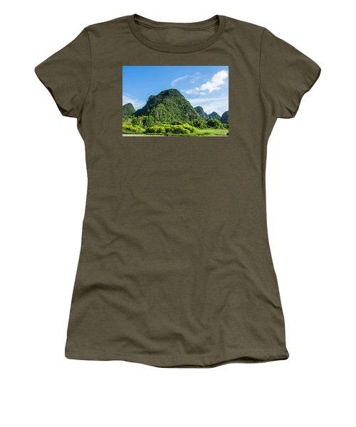 Karst Mountains Scenery Women's T-Shirt