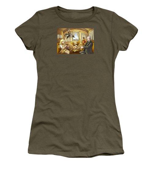 Ned Buntline Women's T-Shirt (Junior Cut) by Reynold Jay