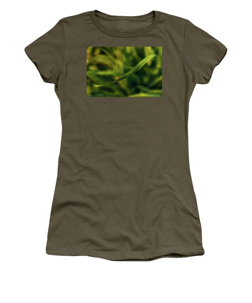Women's T-Shirt (Athletic Fit) featuring the photograph Natures Way by Gene Garnace