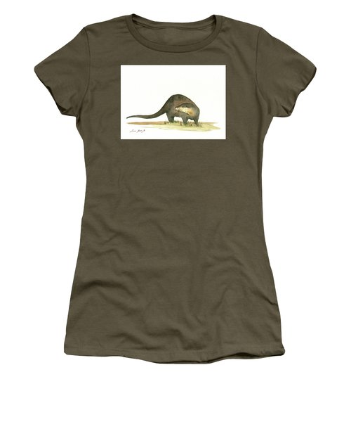 Otter Women's T-Shirt (Athletic Fit)