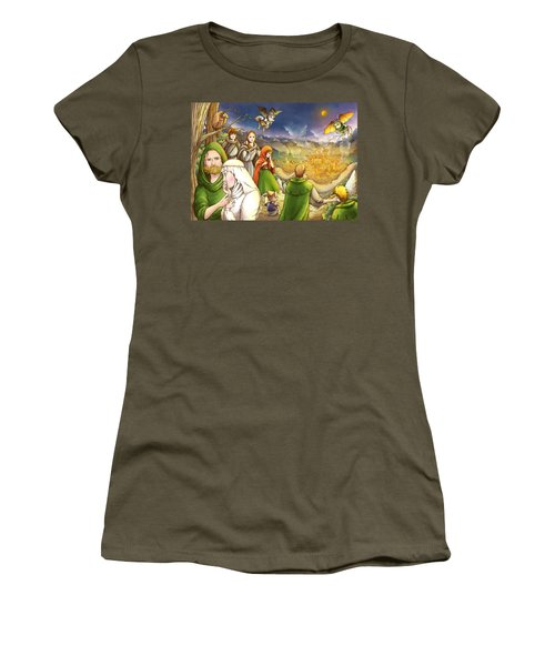 Robin Hood And Matilda Women's T-Shirt