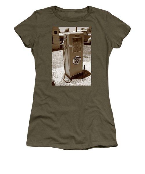 Route 66 Gas Pump Women's T-Shirt