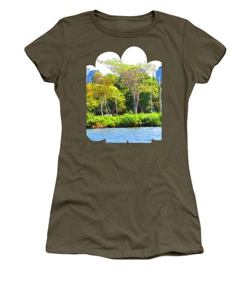 Shirts N Pod Gifts Boston N Surrounding Area Nature Photography By Navinjoshi Fineartamerica Pixles Women's T-Shirt (Junior Cut) by Navin Joshi