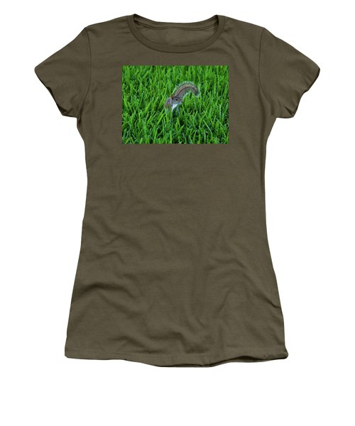Women's T-Shirt (Junior Cut) featuring the photograph 2- Squirrel by Joseph Keane