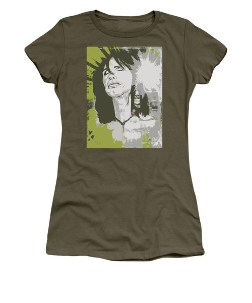 Steven Tyler  Women's T-Shirt (Junior Cut) by Jeepee Aero