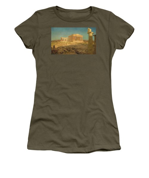 The Parthenon Women's T-Shirt (Athletic Fit)