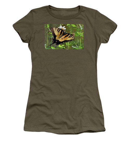 Tiger Swallowtail Women's T-Shirt (Athletic Fit)