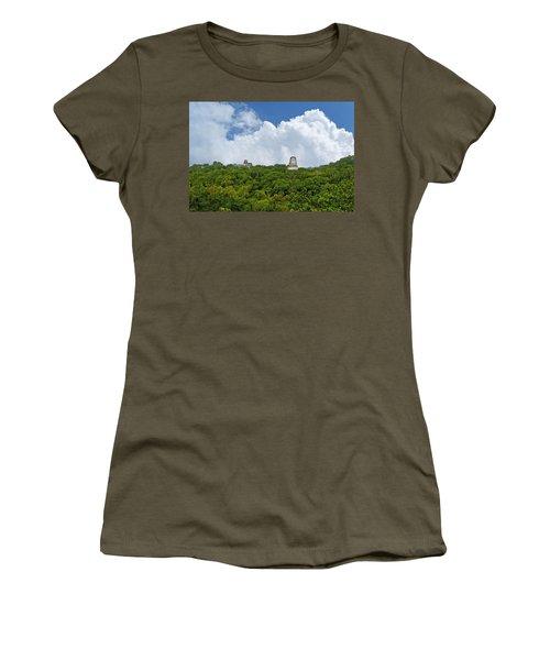 Tikal, Guatemala Women's T-Shirt (Junior Cut) by Marius Sipa