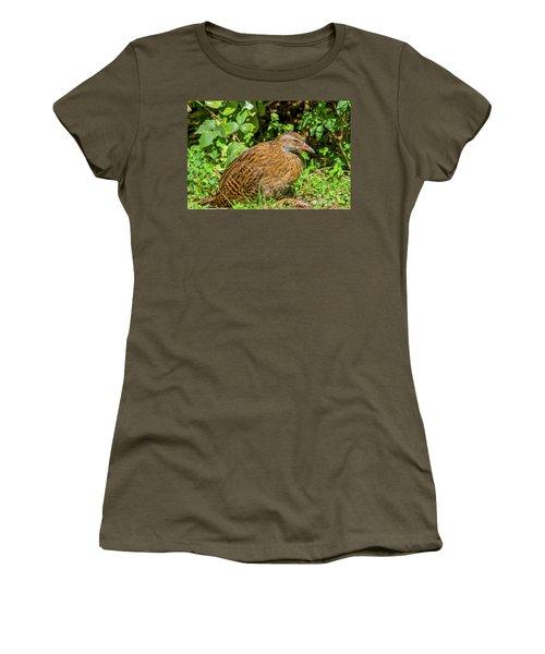 Weka Women's T-Shirt (Junior Cut) by Patricia Hofmeester