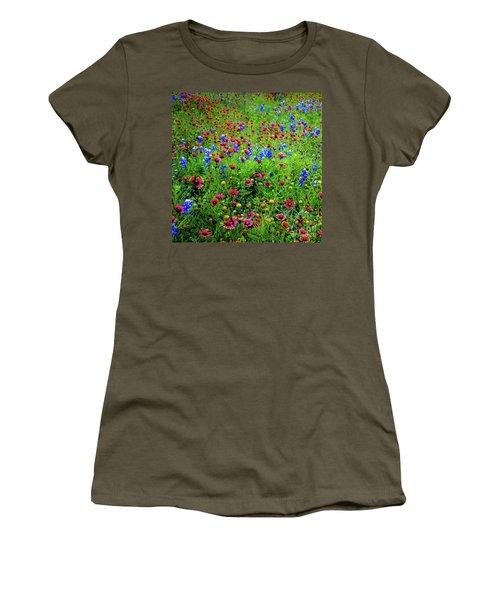 Wildflowers In Bloom Women's T-Shirt
