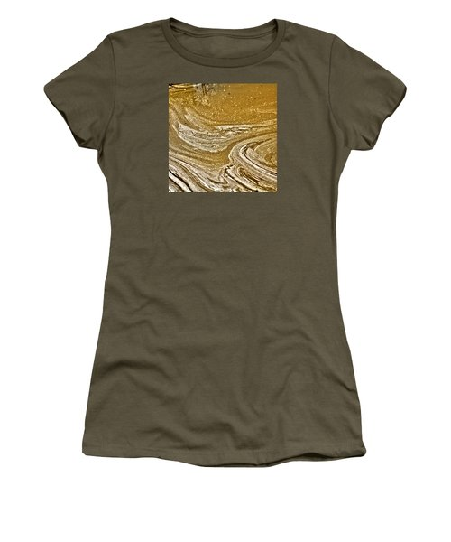 Primordial Soup Women's T-Shirt (Junior Cut) by Bob Wall