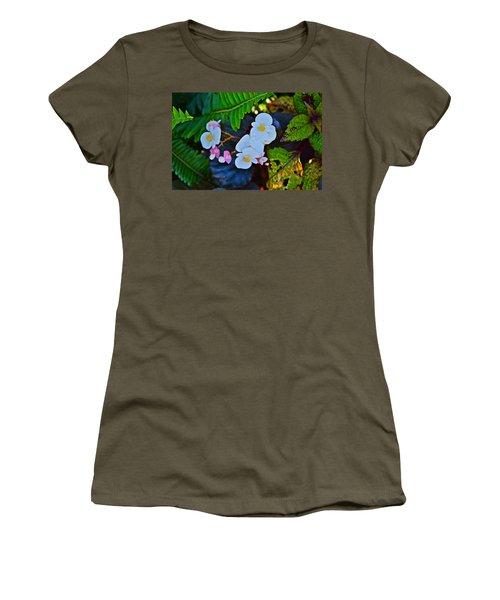 2015 Early September At The Garden Begonias Women's T-Shirt