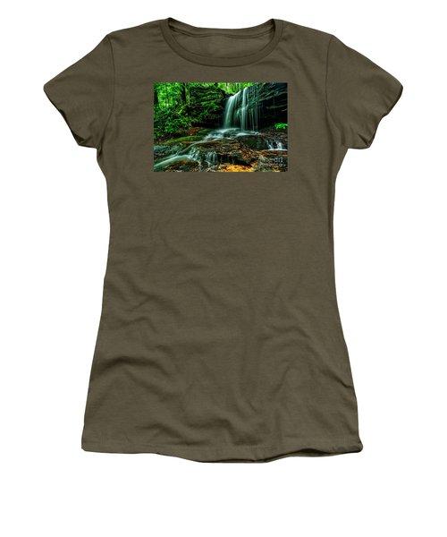 West Virginia Waterfall Women's T-Shirt