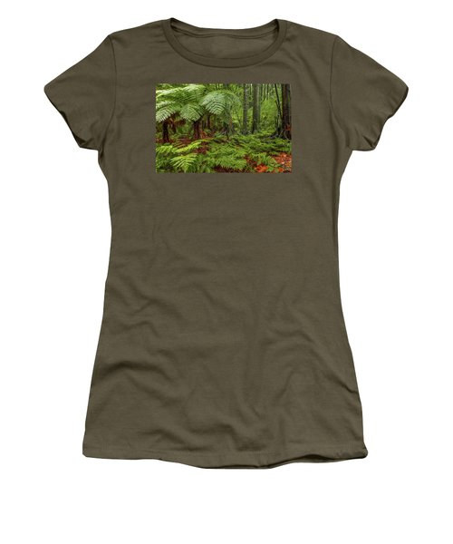Women's T-Shirt (Junior Cut) featuring the photograph Jungle by Les Cunliffe