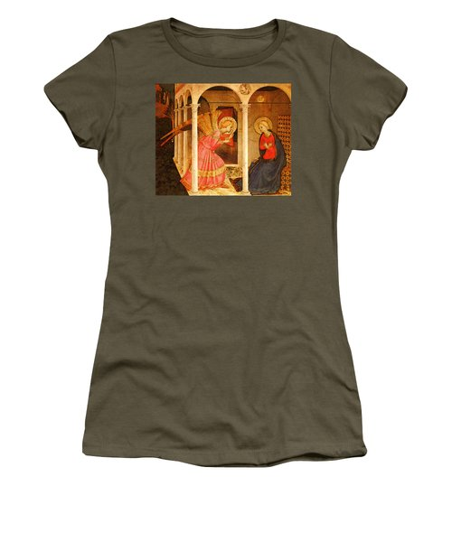 Fra Angelico  Women's T-Shirt (Junior Cut) by Fra Angelico