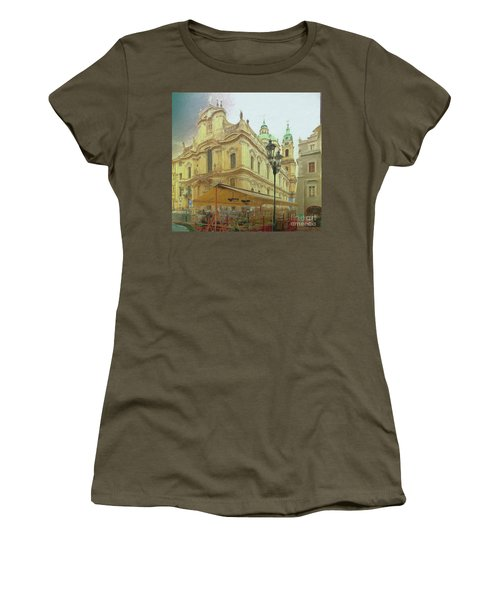 2nd Work Of St. Nicholas Church - Old Town Prague Women's T-Shirt
