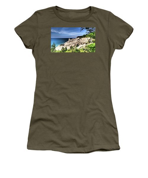 Chimney Bluffs Women's T-Shirt