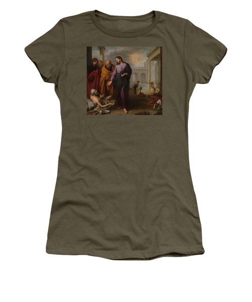 Christ Healing The Paralytic At The Pool Of Bethesda Women's T-Shirt