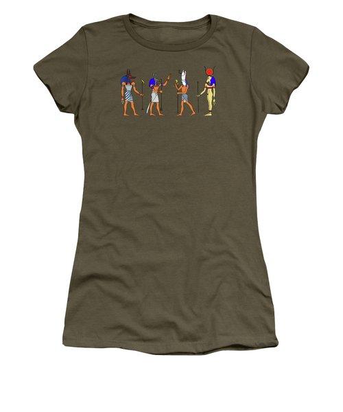 Egyptian Gods And Goddess Women's T-Shirt