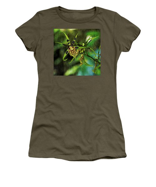 Women's T-Shirt featuring the photograph Orchid by Richard Goldman