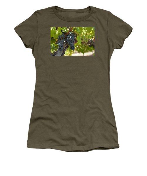 Women's T-Shirt (Junior Cut) featuring the photograph Red Vines by Ulrich Schade
