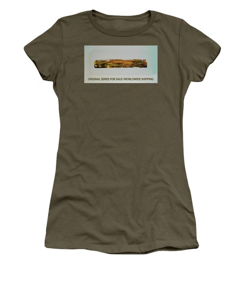 Series Abstract Worlds Only Originals For Sale Worldwide Shipping Women's T-Shirt (Athletic Fit)