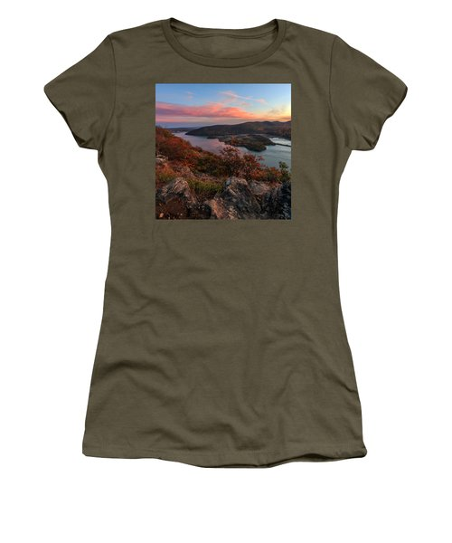 Women's T-Shirt (Junior Cut) featuring the photograph The View  by Anthony Fields