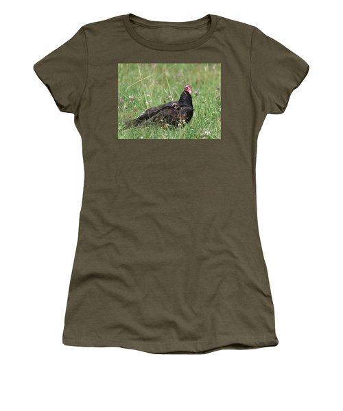 Turkey Vulture Women's T-Shirt (Athletic Fit)