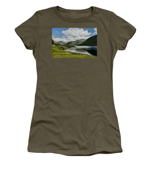 Wastwater Lake District Women's T-Shirt (Athletic Fit)