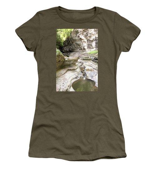 Watkins Glen New York Women's T-Shirt (Athletic Fit)