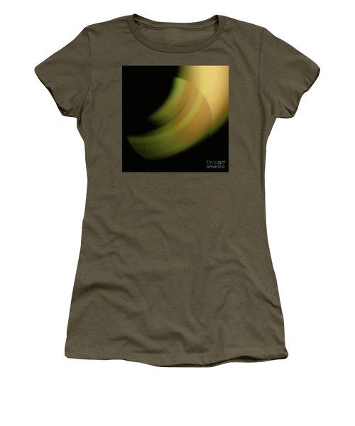 Women's T-Shirt (Junior Cut) featuring the digital art 3000 2017 by John Krakora