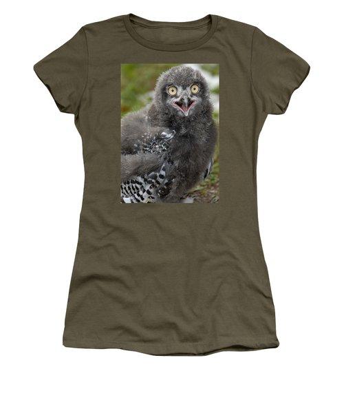 Baby Snowy Owl Women's T-Shirt