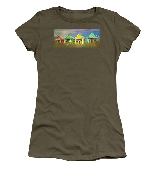 Women's T-Shirt (Junior Cut) featuring the digital art 4 Of A Kind by Dale Stillman