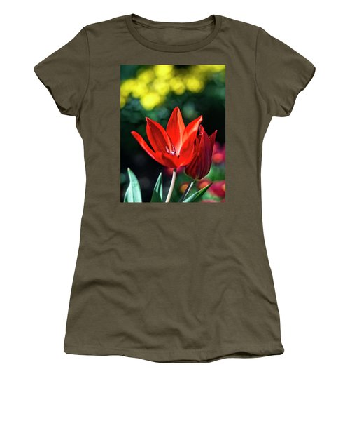 Spring Garden Women's T-Shirt (Athletic Fit)