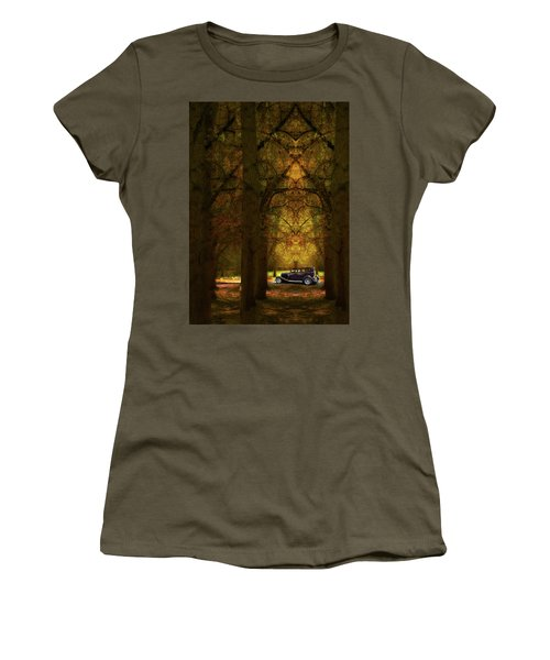 Women's T-Shirt (Junior Cut) featuring the photograph 4390 by Peter Holme III
