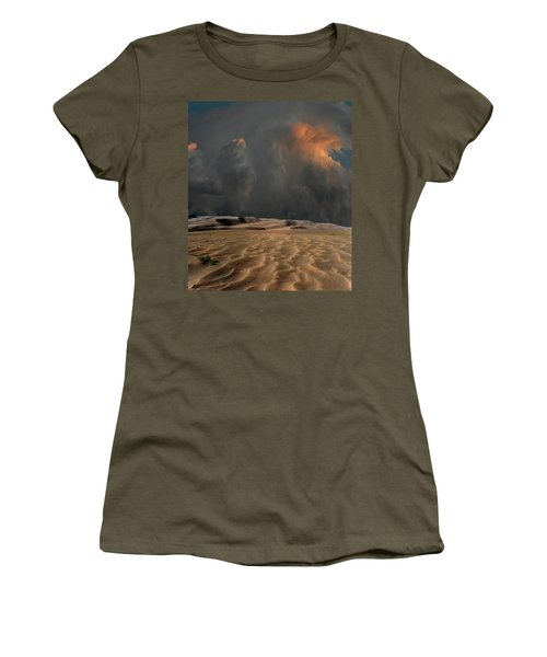 Women's T-Shirt (Athletic Fit) featuring the photograph 4450 by Peter Holme III