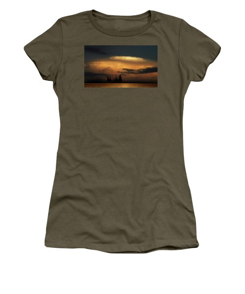 Women's T-Shirt (Athletic Fit) featuring the photograph 4476 by Peter Holme III