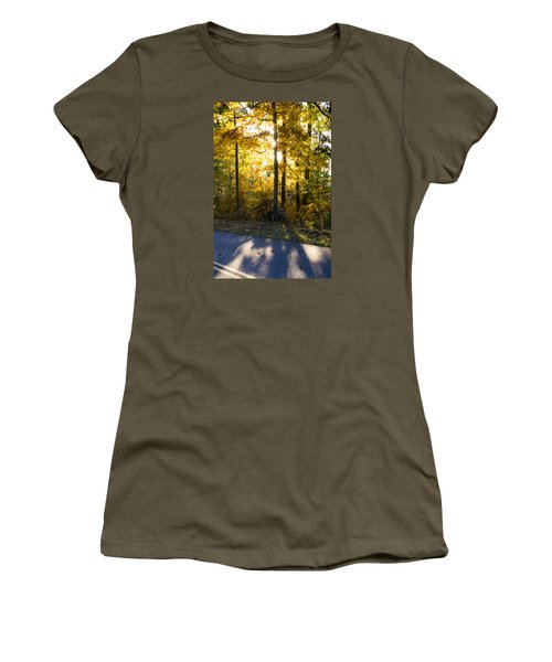 Fall Color Virginia West Virginia Women's T-Shirt (Athletic Fit)