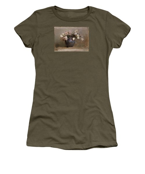Roses Women's T-Shirt (Junior Cut) by Abbott Handerson Thayer