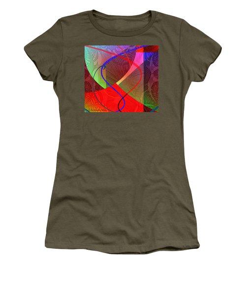 504 - Patterns  2017 Women's T-Shirt (Athletic Fit)