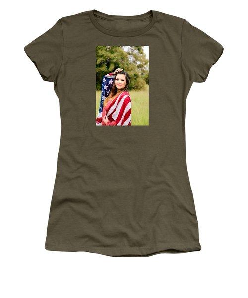 5633-2 Women's T-Shirt (Junior Cut) by Teresa Blanton